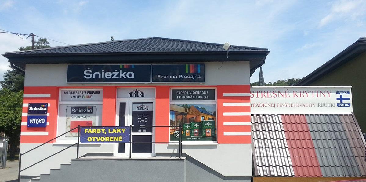 Farby laky | Predajňa a eshop MERICKO.shop | Košice Prešov Vranov
